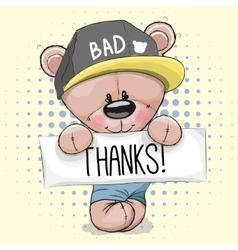 Cute Teddy Bear vector image
