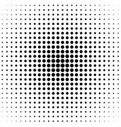 geometrical halftone circle pattern background vector image