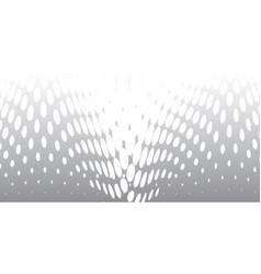 half tone twist vector image
