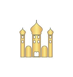 Mosque computer symbol vector