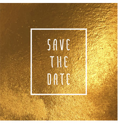 Save the date for cards vector