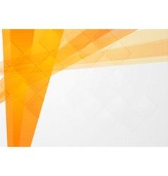Abstract orange technical backdrop vector