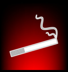 smoke icon great f any use vector image