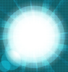 Abstract background glare vector