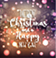 christmas and new year background 0610 vector image