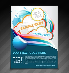 Creative brochure vector