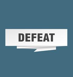 Defeat vector