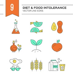 Food Intolerance vector image