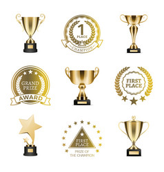 grand prize winner collection vector image