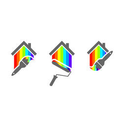 House painter design vector