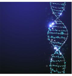 Abstract molecule science concept vector