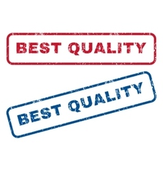 Best Quality Rubber Stamps vector