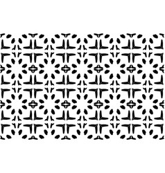 black and white background with black and white fl vector image