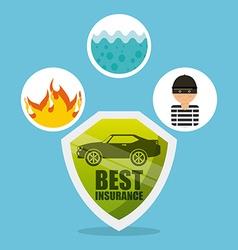 car insurance vector image