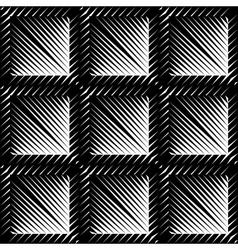 Design seamless square convex pattern vector