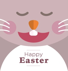 Easter Rabbit Laughing vector
