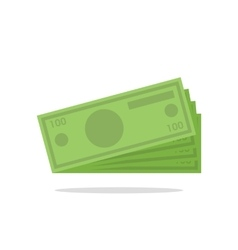 flat icon money vector image