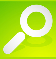 icon for search details zoom research concepts vector image