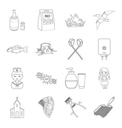 Knife cooking beauty and other web icon in vector
