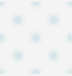 Pale blue flowers seamless background vector