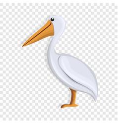 pelican icon cartoon style vector image