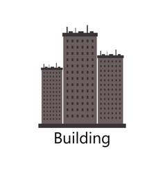 Skyscraper icon vector