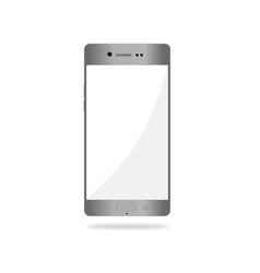smartphone realistic vector image
