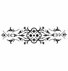 vintage ornate design vector image