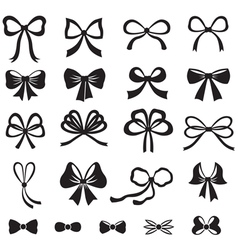 bow vector image