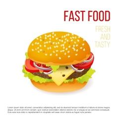 Hamburger icon vector image vector image
