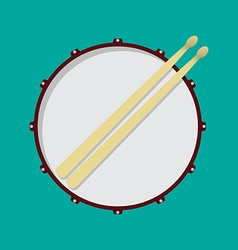 Drum vector image vector image