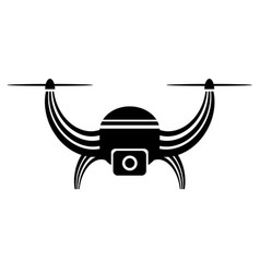 air drone icon isolated vector image