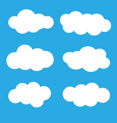 clouds icon vector image