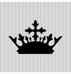 Crown icon design vector