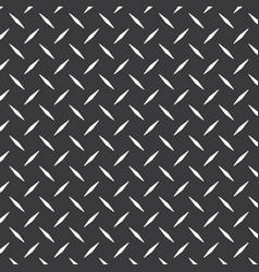 diamond plate metal texture background design vector image