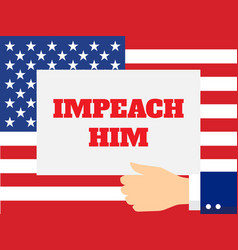 Impeachment word vector