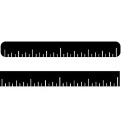Ruler icon isolated on white background vector