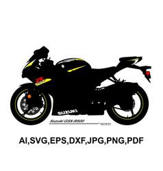 Suzuki gsx r600 vector