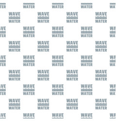 wave water pattern seamless vector image