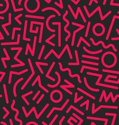 seamless background 80s37 vector image