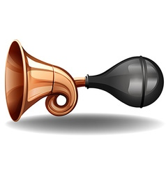 A horn vector image