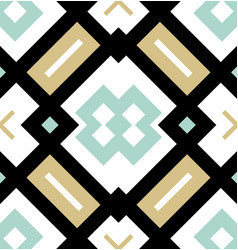 colored seamless geometrical pattern modern vector image
