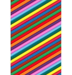 Coloured wood pencils background for childrens vector