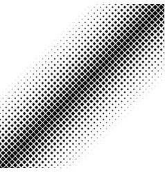 Geometrical abstract halftone diagonal square vector
