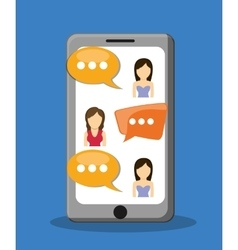 Graphic of Chat design editable vector