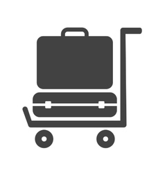 Luggage vector