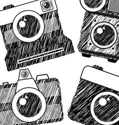 photography camera vector image