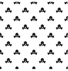 Respirator pattern vector