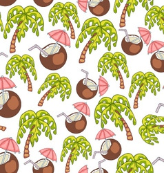 Summer Endless Seamless Pattern vector image