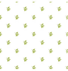 Willow leaf pattern seamless vector